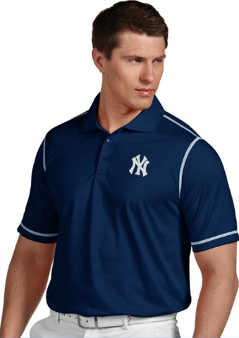 Antigua Men's New York Yankees Navy Icon Performance Polo