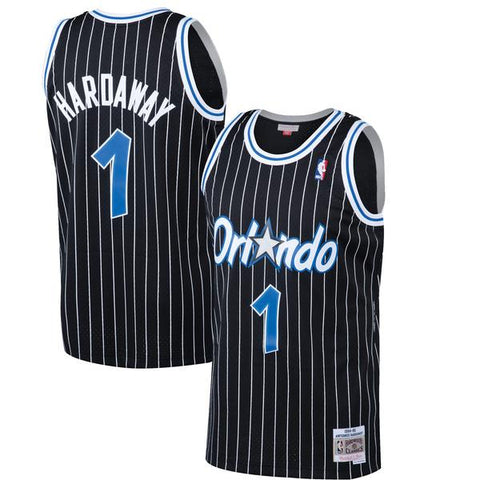 "Mens Anfernee ""Penny"" Hardaway Orlando Magic Mitchell & Ness Black 1994-95 Hardwood Classics Swingman Jersey"
