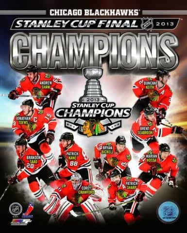 Chicago Blackhawks 2013 Stanley Cup Champions Composite Photo
