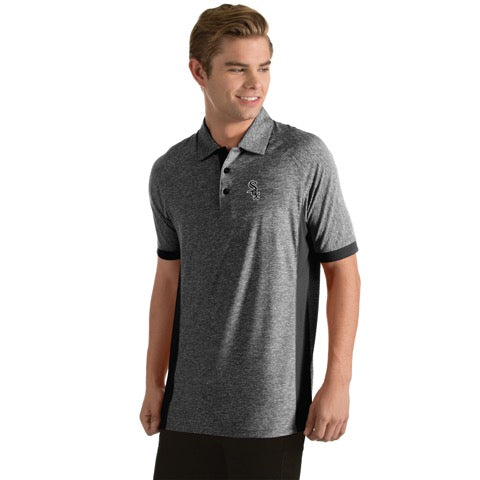 Chicago White Sox Mens Talent Polo By Antigua 828cdc2ea