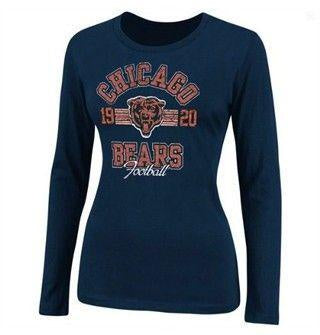 Womens Chicago Bears Illegal Formation Long Sleeve T