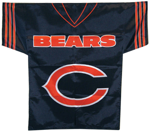NFL Chicago Bears Jersey Banner (34X30-Inch/2-Sided)