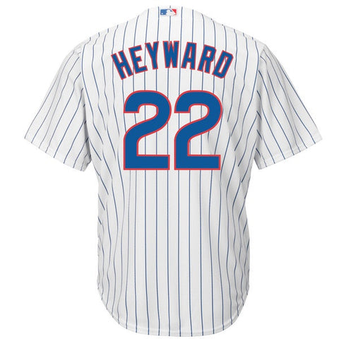 Men's Chicago Cubs Jason Heyward Authentic Cool Base Jersey