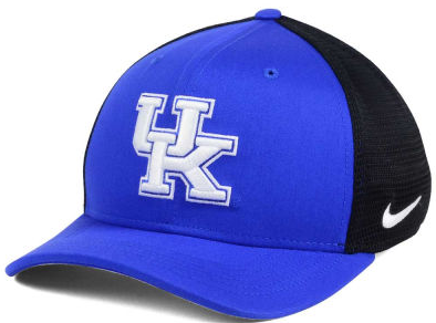 Kentucky Wildcats NCAA Nike Aero Curved Bill Mesh Back Flex Fit Hat