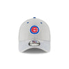 Chicago Cubs Bullseye Logo Vigor Shade 39THIRTY Flex Fit Hat By New Era