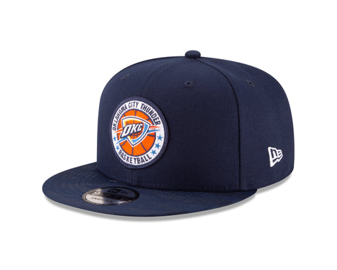 Men's Oklahoma City Thunder New Era Navy Blue 2018 Tip-Off Series 9FIFTY Snapback Hat