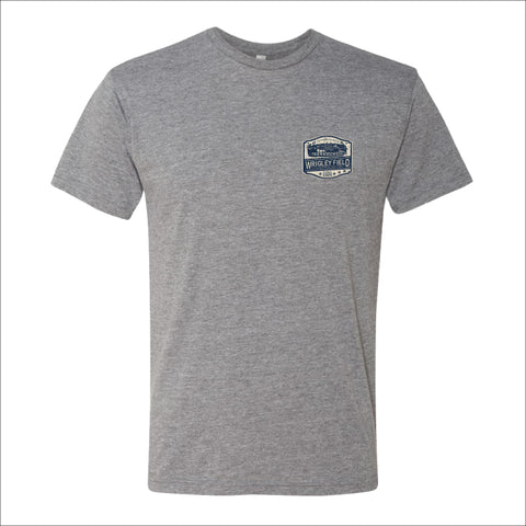 Men's Wrigley Field Heather Gray Tee