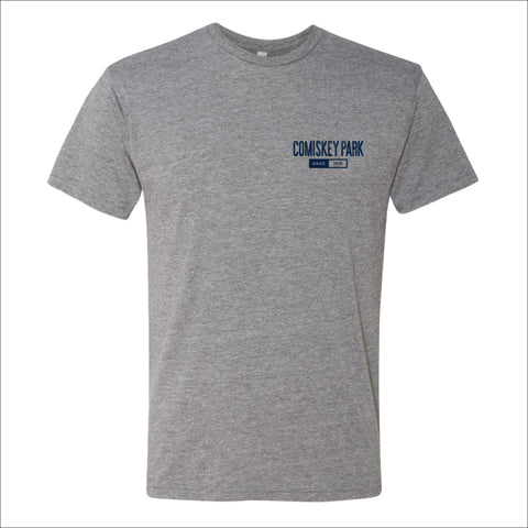 Men's Comiskey Park Heather Gray Smokey Arch Tee