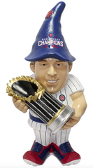 Anthony Rizzo Chicago Cubs 2016 World Series Champions Gnome By Forever Collectibles