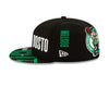 Men's Boston Celtics Black 2019 NBA Tip-Off Series 9FIFTY Adjustable Hat