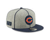 "Chicago Bears 2019 Established Collection Sideline 1920 Home ""C"" Logo Gray/Navy 9FIFTY Snapback Hat"