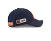 "Women's Chicago Bears 2019 Established Collection Sideline Road ""B"" Logo 9TWENTY Adjustable Flex Hat"
