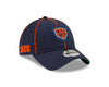 Chicago Bears 2019 Established Collection Sideline 1920 Home Bear Head Logo Navy 9TWENTY Adjustable Hat