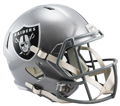 Las Vegas Raiders Full Size Speed Replica Helmet