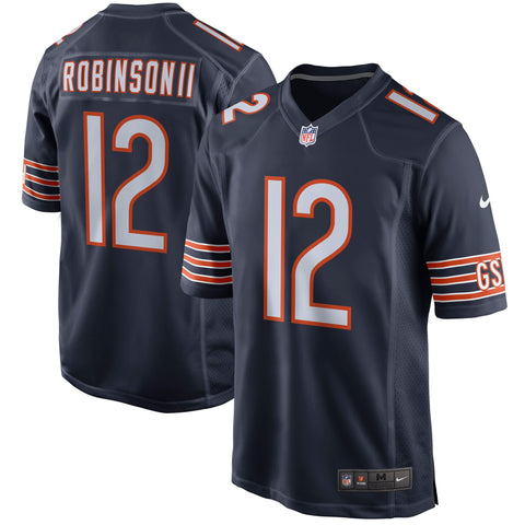 Men's Chicago Bears Allen Robinson Nike Navy Game Jersey