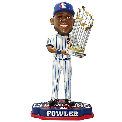2016 World Series Champions Chicago Cubs Dexter Fowler Bobblehead By Forever Collectibles