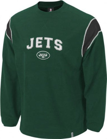 Reebok New York Jets Protector Long Sleeve Crew Sweatshirt