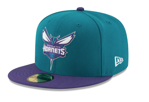 Men's NBA Charlotte Hornets 2Tone 59Fifty Fitted Hat
