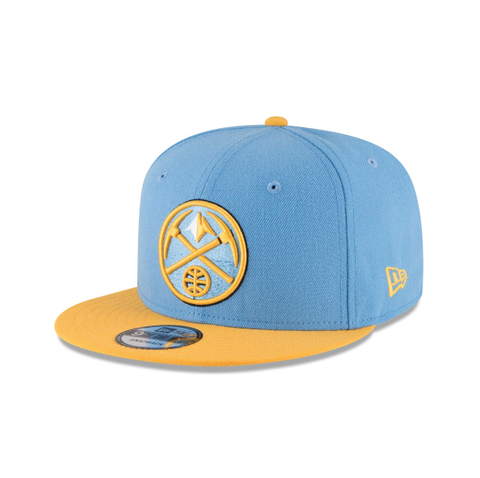 Denver Nuggets 9Fifty 2Tone Blue/Yellow Snapback Hat