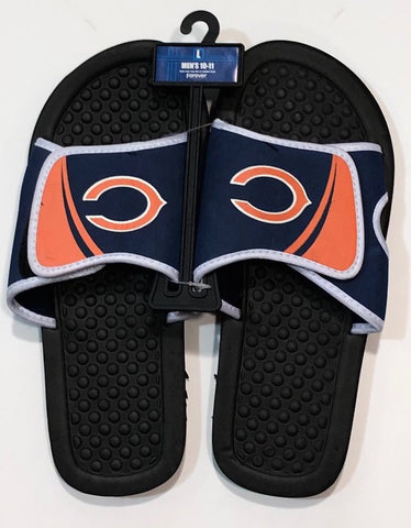 Men's Chicago Bears Shower Slide Flip Flops