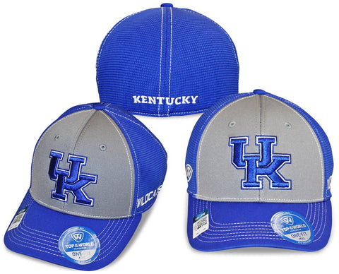 Kentucky Wildcats Two-Tone Dynamic Memory Fit Flex Fit Hat