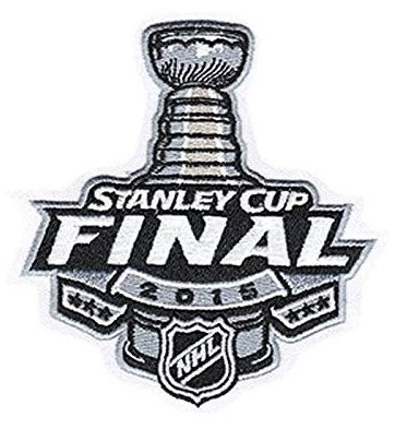2015 STANLEY CUP FINALS PATCH NATIONAL EMBLEM