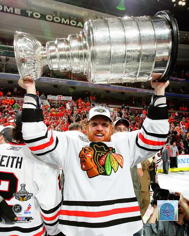 Brian Campbell Chicago Blackhawks 2010 Stanley Cup Champions 8X10 Photo