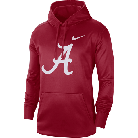 Alabama Crimson Tide Nike Circuit Logo Performance Pullover Hoodie