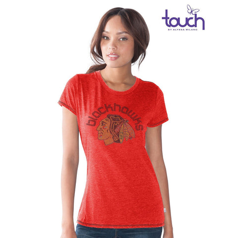 Women's Chicago Blackhawks Friday Night Lights Tee