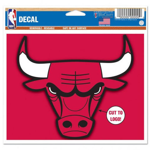 Chicago Bulls 5X6 Decal