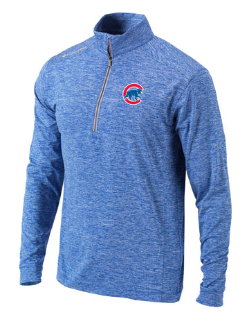 Men's Chicago Cubs Columbia Omni-WICK Power Fade Pullover