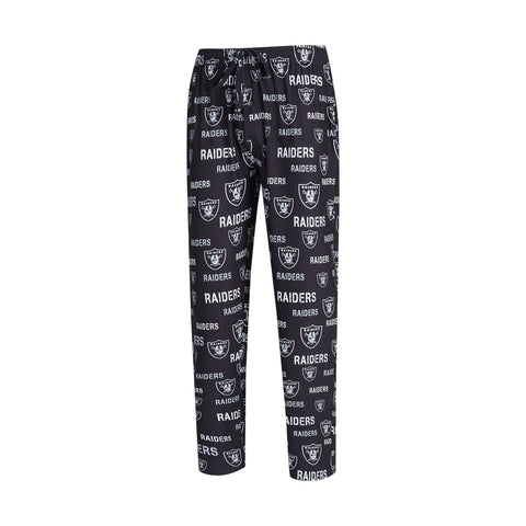 Men's Las Vegas Raiders Midfield Synthetic Pajama Pants