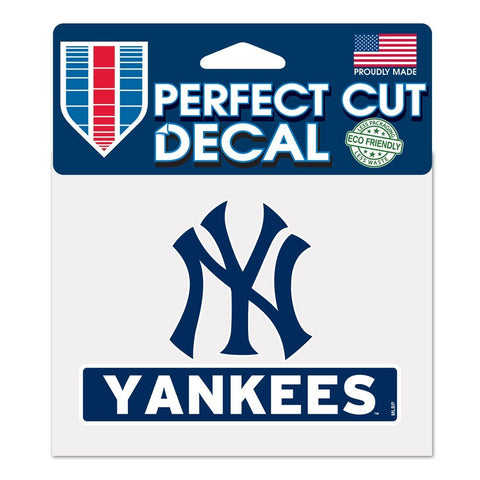 "New York Yankees MLB 4.5"" X 5.75"" Perfect Cut Decal"
