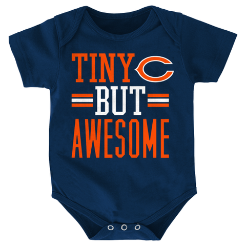 Chicago Bears Infant Tiny But Awesome Creeper