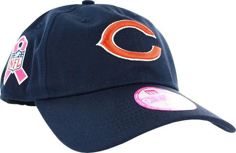 Chicago Bears Womens Breast Cancer Sideline 9Forty Adjustable Hat