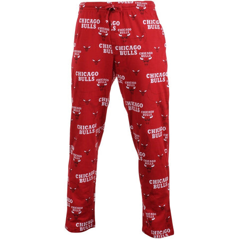 Chicago Bulls Red Keynote Mens Pajama Pants by Concepts Sports