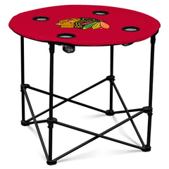 Chicago Blackhawks Round Table By Logo Brands