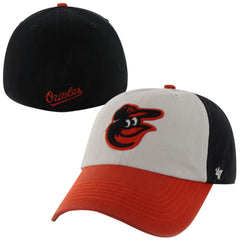 '47 Baltimore Orioles Black Home Franchise Fitted Dad Hat