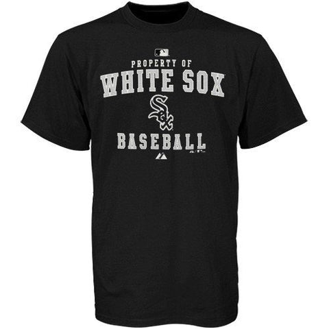 Majestic Chicago White Sox Youth Black Property Of T-shirt