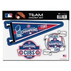 Chicagi Cubs 2016 World Series Champions Team magnet Set