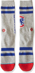 Chicago Cubs Gray Wrigley Socks