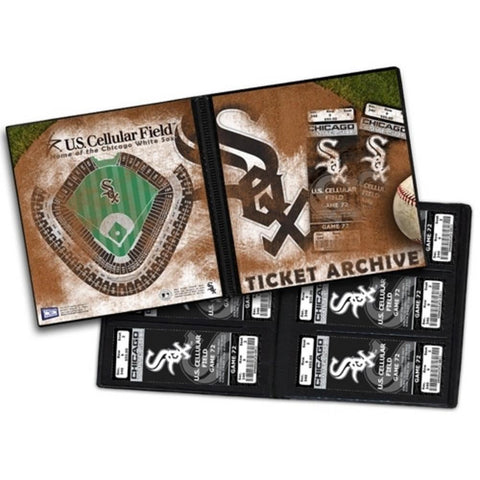 Chicago White Sox Throwback Ticket Album