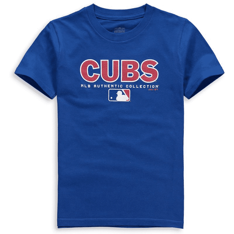 Chicago Cubs Youth Team Drive On-Field Authentic T-Shirt