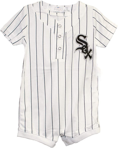 Chicago White Sox Newborn/Infant Cool Base Replica Home Romper/Jersey