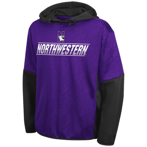 NCAA Northwestern Wildcats Youth Sleet Fleece By Colosseum Athletics