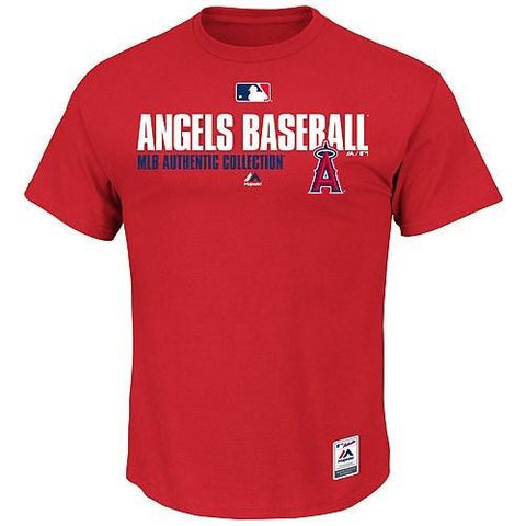 Men's MLB Los Angeles Angels Of Anahiem Authentic Collection Team Favorite T-Shirt