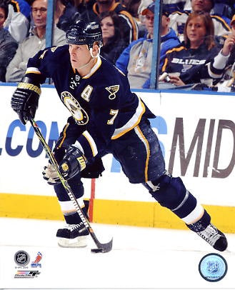 Keith Tkachuk St. Louis Blues Photo (Size 8X10)