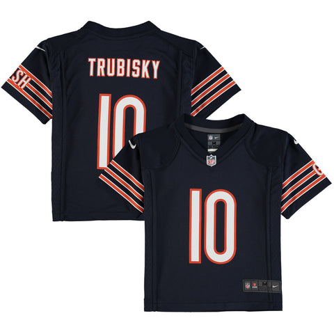 Toddler Preschool Chicago Bears Mitchell Trubisky Nike Navy Game Jersey