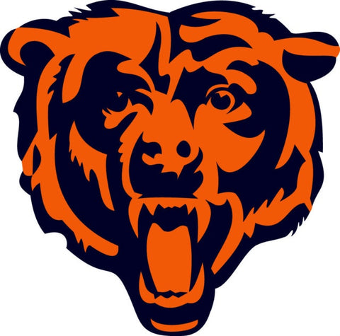 Chicago Bears Die Cut Window Decal