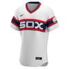 Men's Chicago White Sox Luis Robert Nike White Alternate Authentic Player Jersey